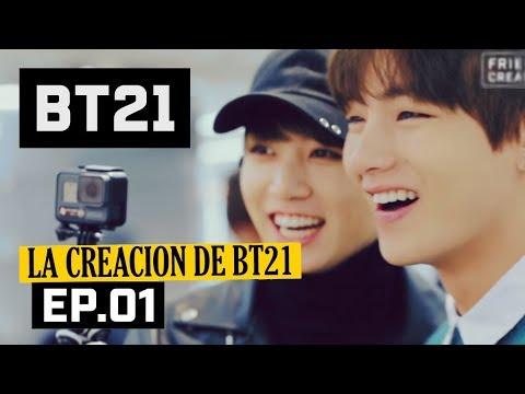 [Sub español] BTS - La creación de BT21 (EP.01)
