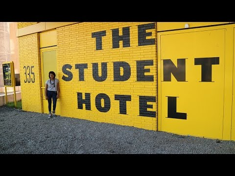 Best Hotel in Amsterdam 2017 - Student Hotel Amsterdam West - VLOG 1