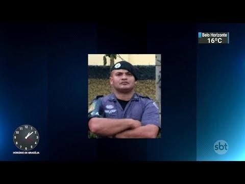 Policial militar é assassinado durante assalto em frente à própria casa | SBT Notícias (11/06/18)