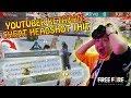 KECIDUK PAKE CHEAT HEADSHOT 1HIT YOUTUBER MK KEMAZ DI RANDOM SQUAD RANK - Garena Free Fire