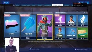 FORTNITE SHOP 13 JULY - UNMISTAKABLE, CRIPTIC, ENIGMA, CORNETTO AND MORE