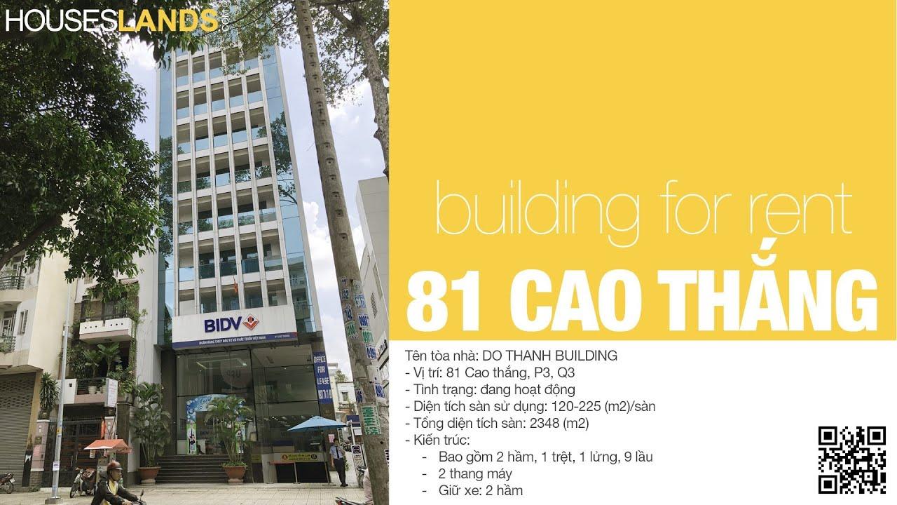 Cho Thue Van phong Cao cap Quan 3 - 81 CAO THANG HOUSESLANDS.COM