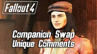 Fallout 4 - Companion Swap Unique Comments (Piper)