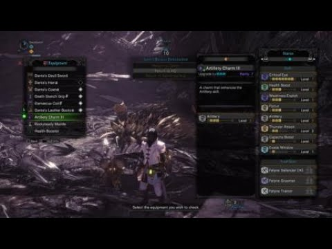 MHW: Blademaster Charge Blade | Dante's Devil Sword High Crit Build