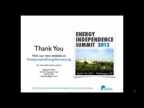 Getting the Most Out of Energy Independence Summit 2013