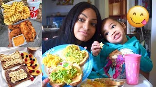 WHAT WE EAT IN A DAY! (MOM & TODDLER)