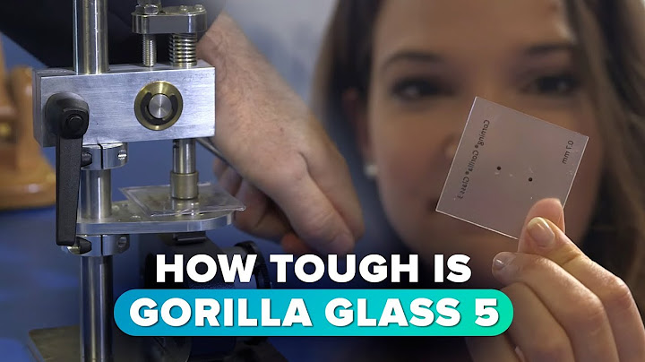 how tough is the new gorilla glass 5