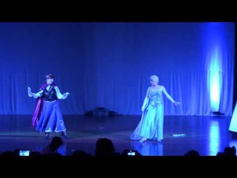 Teatro Frozen - Castelo da Elsa