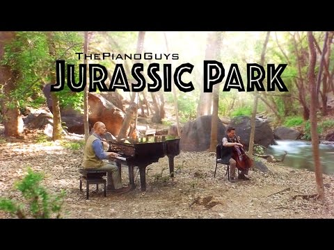 """Jurassic Park Theme"" - 65 Million Years In The Making! - ThePianoGuys"