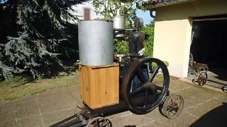 ancien moteur fixe Japy type O série 12E