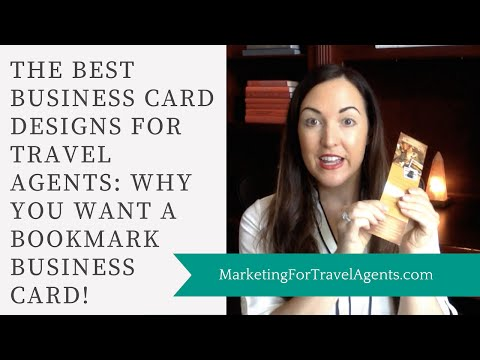 Business Cards for Travel Agents