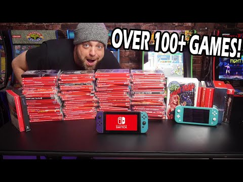 My Nintendo Switch Game Collection - Over 100 Physical GAMES!  
