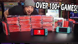 My Nintendo Switch Game Collection - Over 100 GAMES!