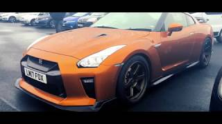Car Park Cars! - New Nissan GTR, Aston Martin V8 Vantage, 2018 Honda Civic Type R & More!