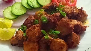 Restaurant Style Tandoori Mushroom Recipe  Delicious Veg Starter Recipe    CookWithLubna