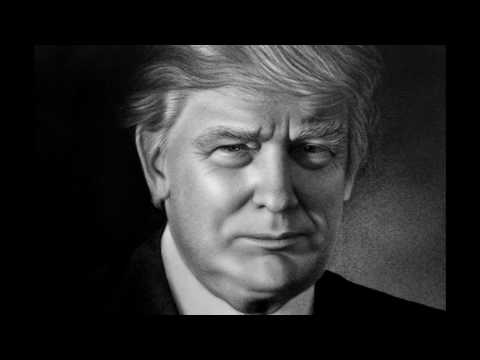 Donald Trump Portrait Speed Drawing by Stefan Pabst