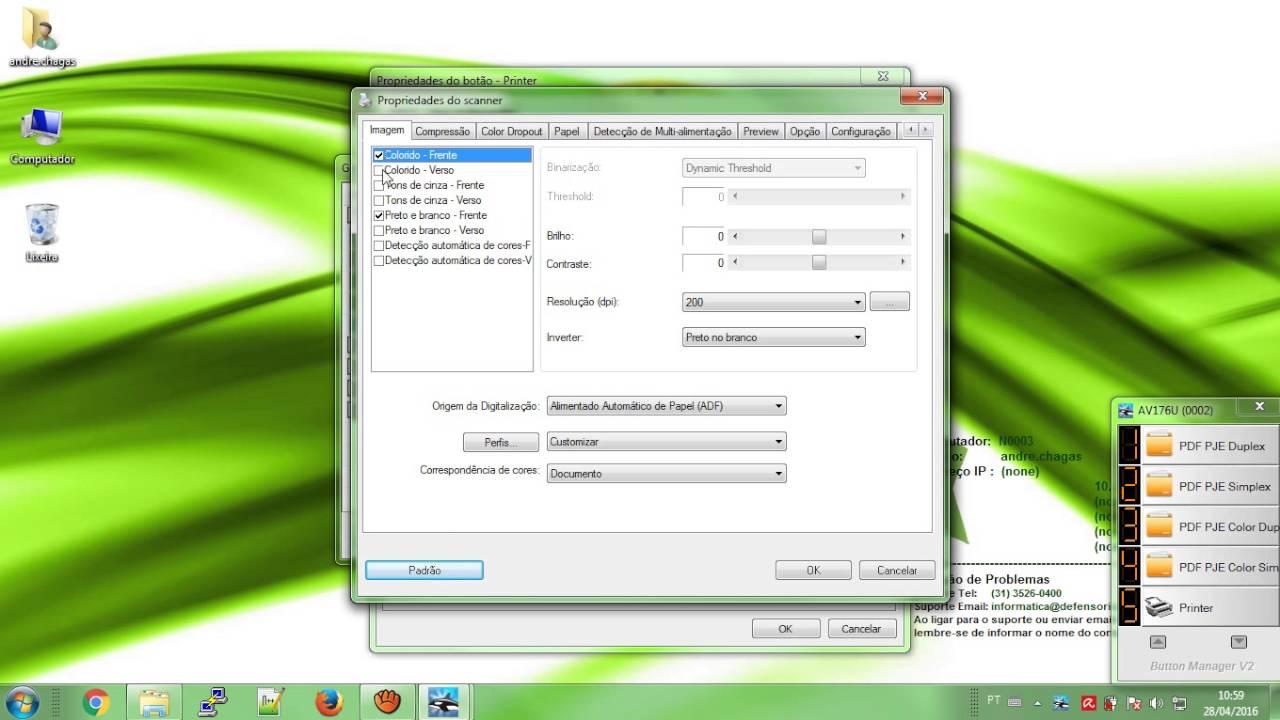AVISION AV176U SCANNER TREIBER WINDOWS 7