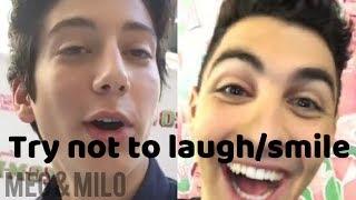 Try not to Laugh or Smile Part 2 (Z-O-M-B-I-E-S)   Meg & Milo