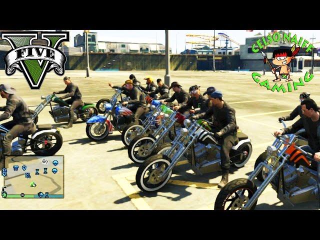 🔴gta V Motoclube Encontro Xbox 360🔴