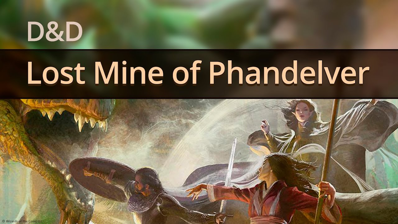 D&D Lost Mine of Phandelver One-Shot Part 1 by Starwalker Studios