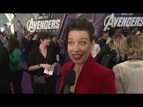 AVENGERS: ENDGAME Premiere With EVANGELINE LILLY