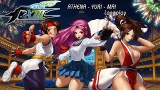 The King of Fighters XIII [Xbox 360] Athena - Yuri - Mai