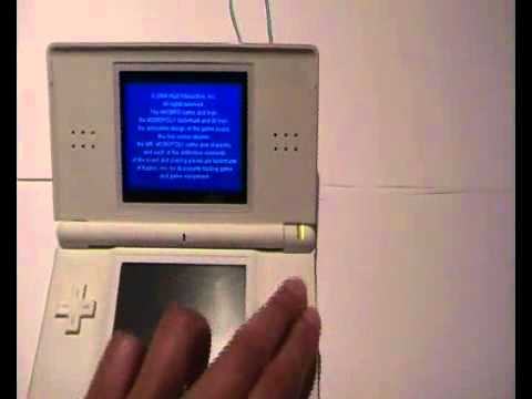 how to put gameboy advance game in ds lite youtube. Black Bedroom Furniture Sets. Home Design Ideas