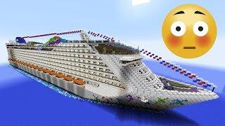 Самый огромный круизный лайнер в мире
