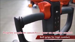 Transpalette électrique 1.5 T - EDGE   PALVAC - Tel : 02 41 27 33 22