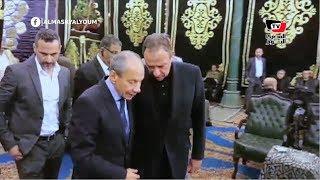 «الخطيب» يصطحب إبراهيم حجازي لمواساة نجل خالد توحيد