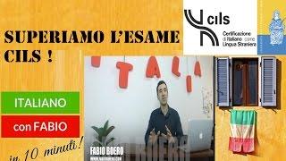 SUPERIAMO L'ESAME CILS CON FABIO BOERO!Come affrontare la prova di ascolto! Italiano per stranieri