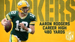 Aaron Rodgers Highlights from Career-High 480-Yard Game | Redskins vs. Packers (2013) | NFL