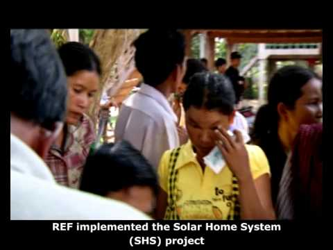 Rural Electrification Fund – Video Presentation on Solar Home Systems in Cambodia (Eng.Sub)