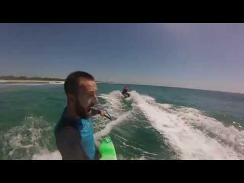 Jet Ski tow-in surfing