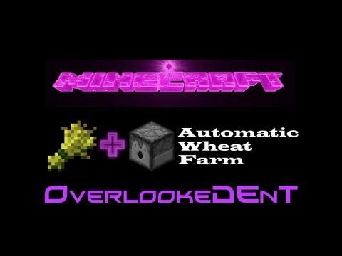Full Auto Wheat Farm - Minecraft Xbox 360/PS3 - [Tutorial]