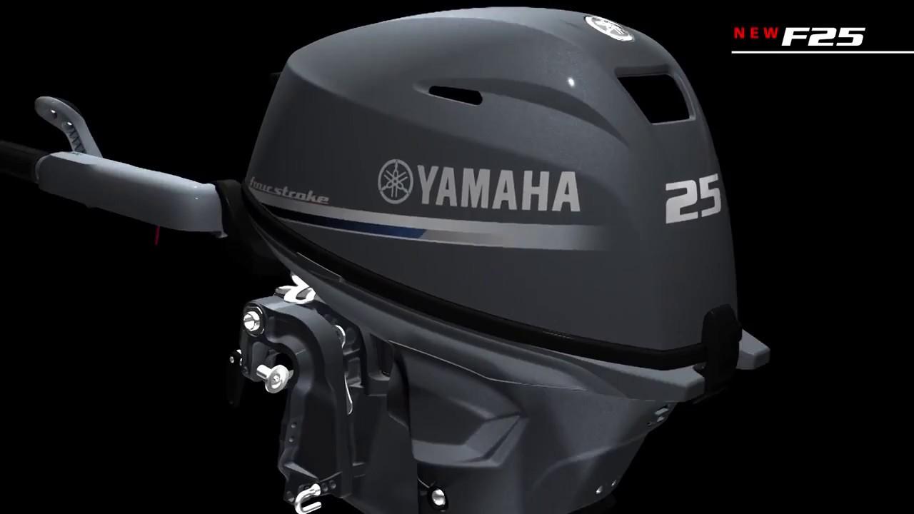 Yamaha F25 NEW подвесной лодочный мотор