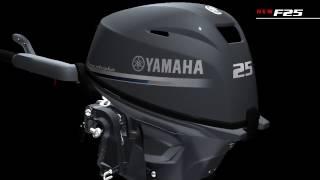 Yamaha F25 NEW підвісний човновий мотор