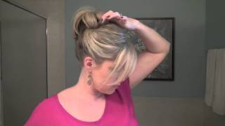 How to Make a Fancy Bun - Real Simple