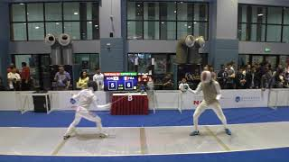 FE 2018 145 T64 30 M F Individual Shanghai CHN GP 8 HAN KOR vs LEFORT FRA