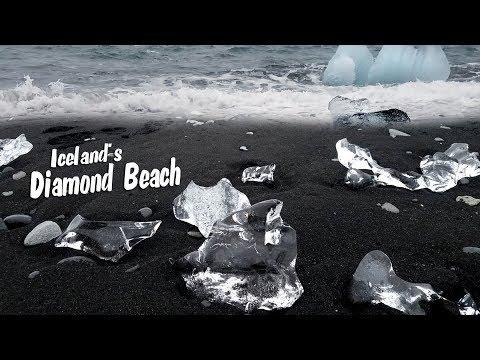 The Diamond Beach in Iceland