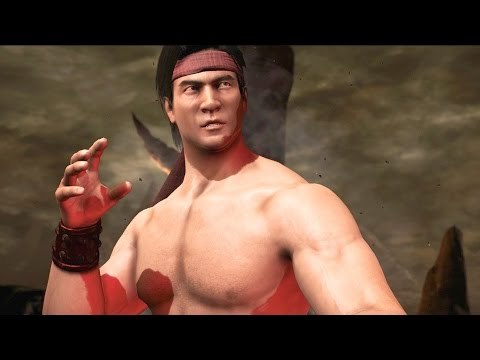 Mortal Kombat X - Liu Kang MK1 Costume Klassic Arcade Ladder Gameplay Playthrough