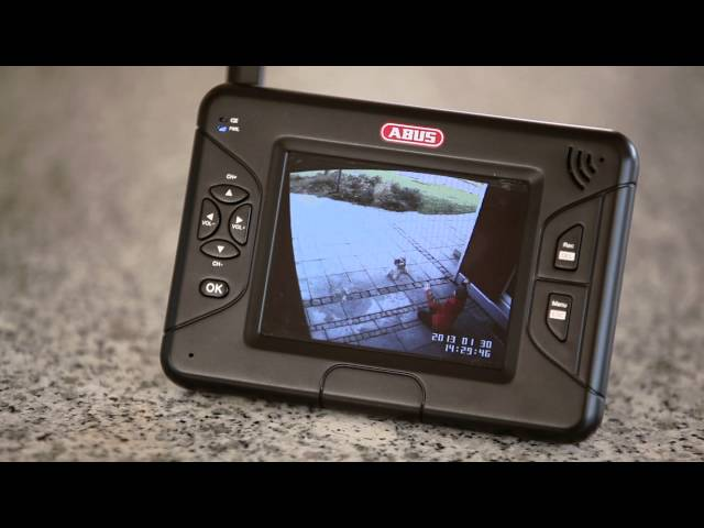 abus tvac15000 3 5 heim video berwachungsset funk berwachungskamera berwachungskamera. Black Bedroom Furniture Sets. Home Design Ideas