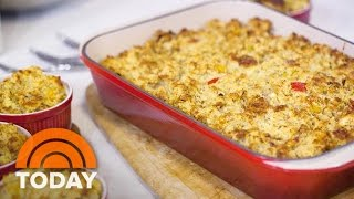 Thanksgiving Cornbread Recipes: Savory Dressing And Sweet Pound Cake   TODAY