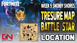 Fortnite Follow the Treasure Map Found in Snobby Shores Season 5 Week 5 Challenge
