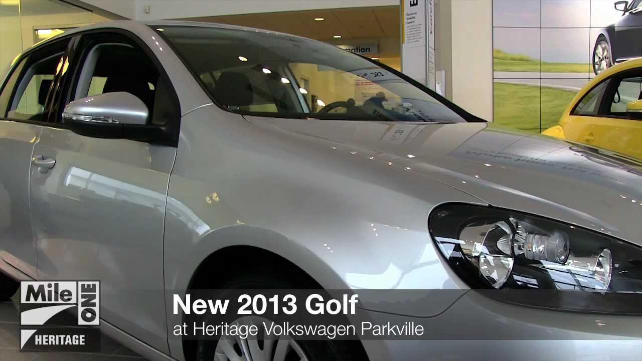 New 2013 Volkswagen Golf At Parkville White Marsh Baltimore Md Vw