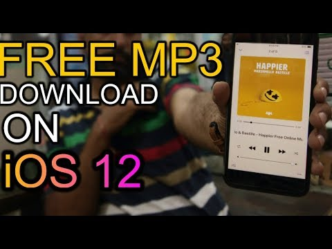 HOW TO DOWNLOAD FREE MP3/MUSIC ON iOS 12 IN iPhone XS(MAX)OFFLINE MUSIC