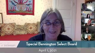 Bennington Select Board // 4-1-21