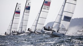 NACRA 17 Sailing - Gold Fleet Day 2 – 2019 Volvo European Championship