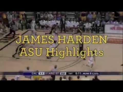 James Harden ASU Highlights (2007-2009)