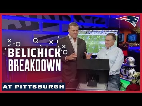 Bill Belichick breaks down the end of game plays vs. the Steelers